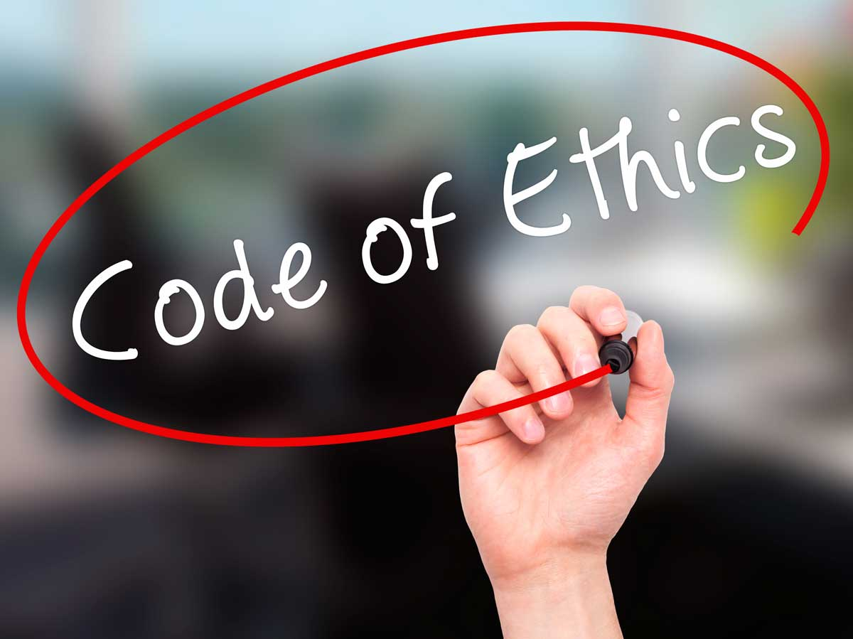 code of ethic Code of ethics for professional accountants ethics 1102 preface the mission of the international federation of accountants (ifac), as set out in its.